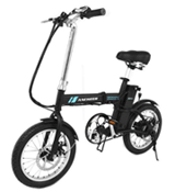 Ancheer: $80 Off 16 Inch Wheel 250W Folding City Commuter Electric Bike