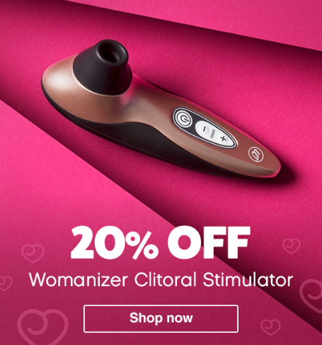 Lovehoney: 20% Off Womanizer Clitoral Stimulator