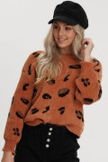 Ally Fashion: 40% Off PRINT KNIT TOP