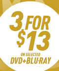 OzGameShop: 3 For $13 On Selected DVD & Blu-ray