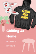 TeeChip: Up To 15% Off Chilling At Home