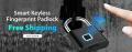Cesdeals: 48% Off Smart Keyless Fingerprint Padlock Anti-Theft Lock